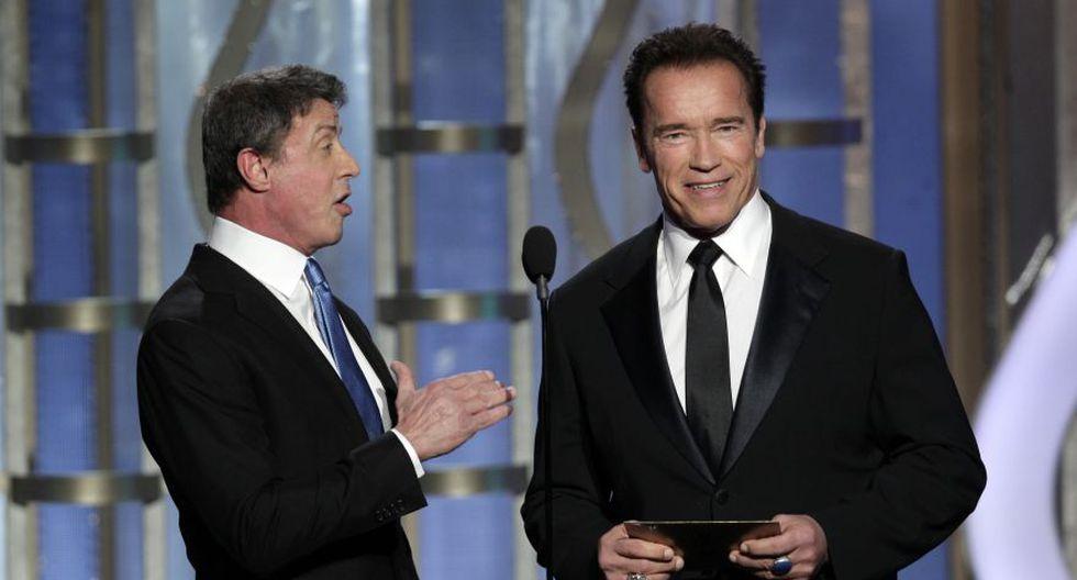 Schwarzenegger y Stallone: de enemigos a inseparables amigos - 2