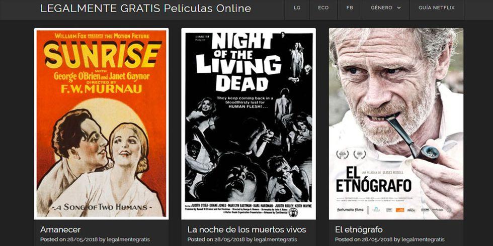 Esta web reúne películas y documentales abiertos al público. (Foto: Captura)
