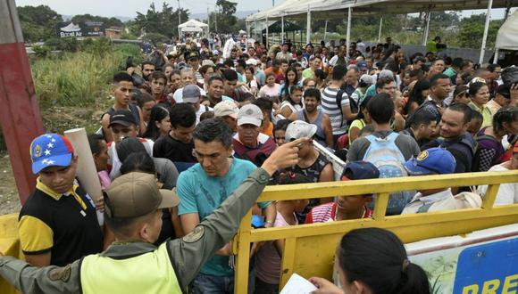 La gran mayoría de venezolanos se han trasladado a otros países de la región. (Foto: AFP)
