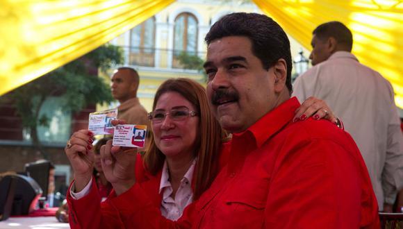"""El presidente de Venezuela, Nicolás Maduro, dijo que llegará a Lima así """"llueva, truene o relampaguee"""". (Foto: EFE)"""