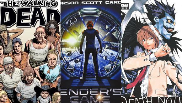 """""""The Walking Dead"""", """"Ender's Game"""" y """"Death Note"""" son algunos de los títulos más recordados en los últimos años. (Foto: Difusión)"""