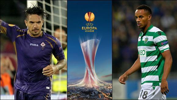 Europa League: Juan Vargas y André Carrillo ya tienen rivales