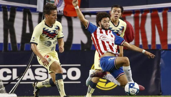 América y Chivas protagonizan este sábado 28 de septiembre una edición más del clásico mexicano por la Liga MX   Foto: AFP