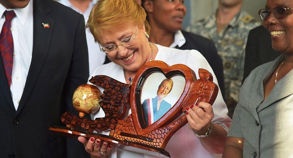 Bachelet visita Haití y aborda la crisis migratoria [FOTOS] - 11