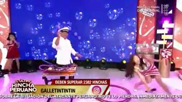 The funny thing is that 2018 falls on Peruvian TV