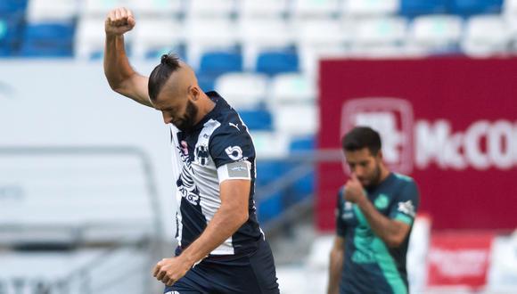 Monterrey derrotó 3-1 a Puebla en la Liga MX | Foto: EFE