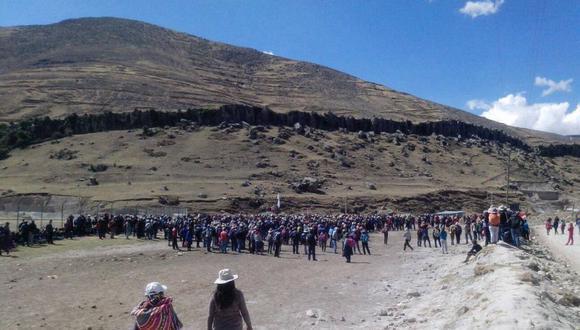 Representantes del Ejecutivo y de la empresa minera Las Bambas se reunieron para buscar una solución al conflicto minero | Foto: referencial-Observatorio de Conflictos Mineros en el Perú