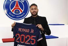 Neymar renovó contrato con PSG y jugará en Francia hasta la temporada 2025