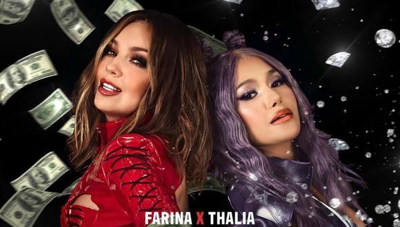 """Thalía se prepara para estreno del videoclip de """"Ten cuidao"""" junto a Farina. (Foto: @thalia)"""