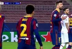 La discusión de Gerard Piqué y Antoine Griezmann tras los constantes ataques de Mbappé   VIDEO