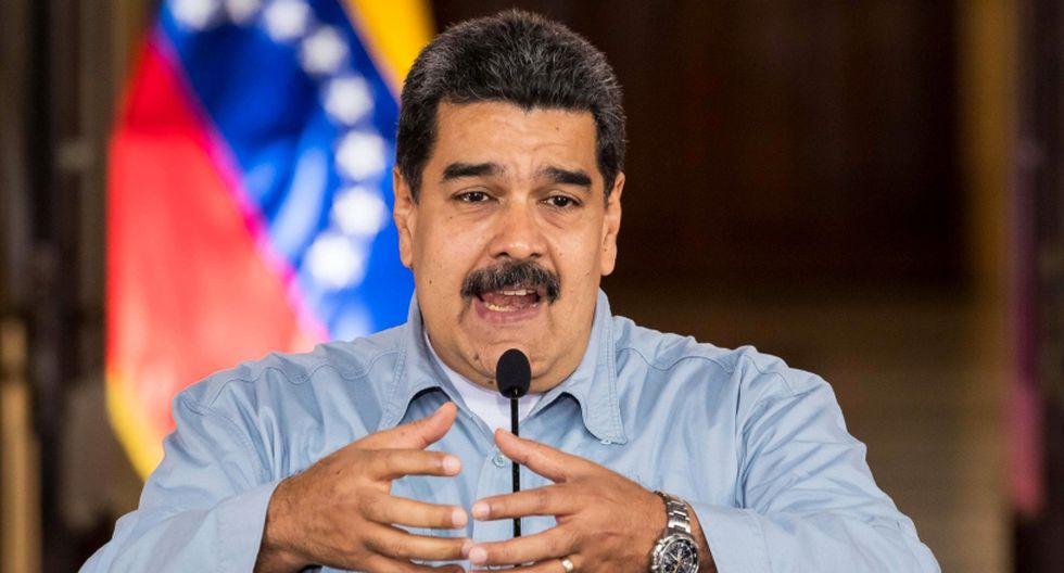 Nicolás Maduro, presidente de Venezuela. (Foto: EFE/MIguel Gutiérrez)