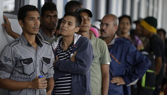 Exigió una política integral migratoria que respete los derechos humanos de los extranjeros. (Foto: AP)