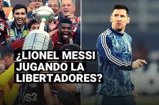 """El deseo del presidente de Conmebol con Messi: """"Debe venir a Argentina y participar en la Libertadores"""""""