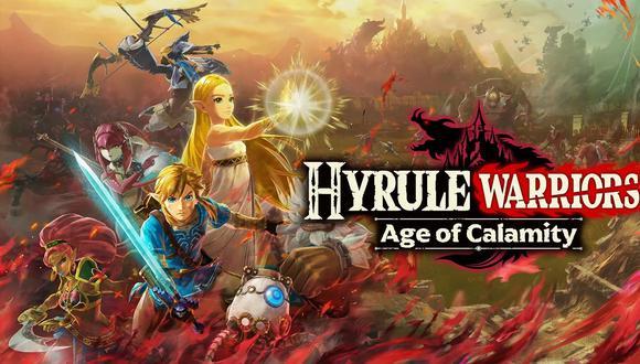 Hyrule Warriors: Age of Calamity se lanzó el 20 de noviembre para Nintendo Switch. (Difusión)