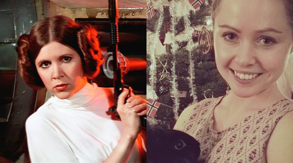 "Star Wars: habló actriz que hizo de ""Leia joven"" en Rogue One - 2"