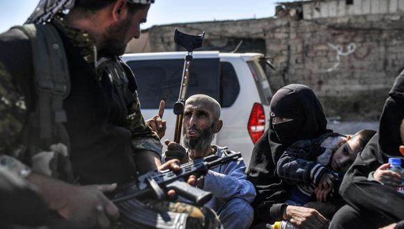 Miles de civiles han sido evacuados de Raqqa, al norte de Siria.  (Foto: AFP)