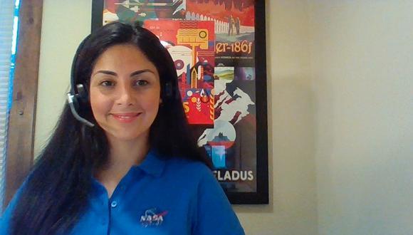 Misión de la NASA a Marte: Diana Trujillo, la ingeniera colombiana que es clave es la investigaciones. Foto: twitter Diana Trujillo @FromCaliToMars