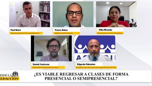 ¿Es viable regresar a clases de forma presencial o semipresencial? Sigue nuestro debate.