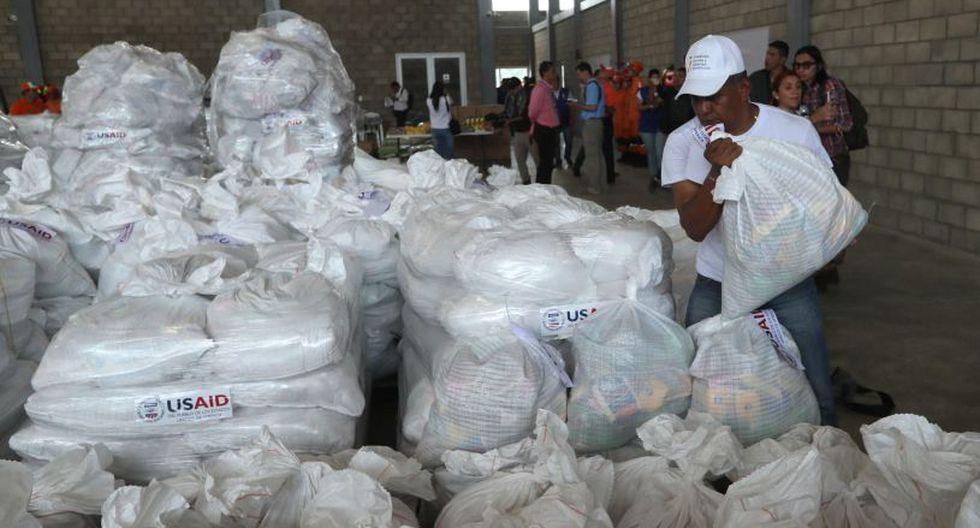 González destacó con esto que no hay planes de intervención militar en Venezuela y que toda la operación que se prepara en Cúcuta lo que busca es llevar víveres, medicinas y kits de higiene al pueblo de ese país. (Foto: EFE)