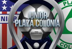 Junior vs. Plaza Colonia EN VIVO: cuándo, a qué hora y cómo ver EN VIVO partido por Copa Sudamericana 2020