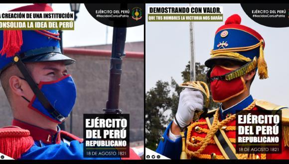 Ejército del Perú revela que la fecha de su creación fue el 18 de agosto de 1821
