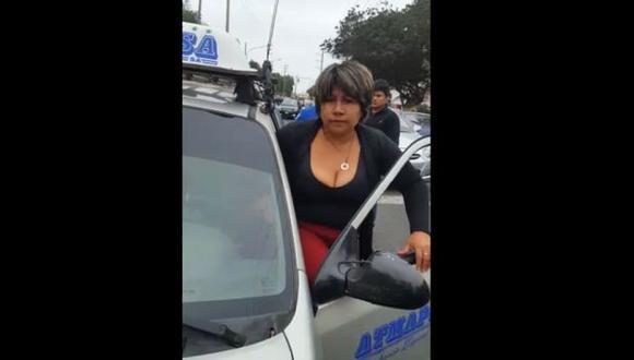 Trujillo: mujer que agredió a inspectores de tránsito ya habría sido identificada