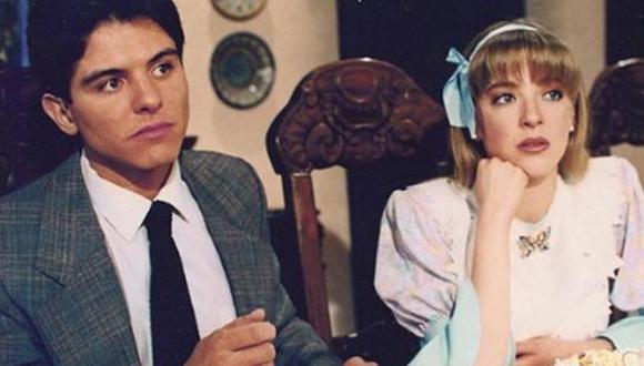 """Ernesto Laguardia y Edith González en """"Flor y canela"""" (Foto: Televisa)"""