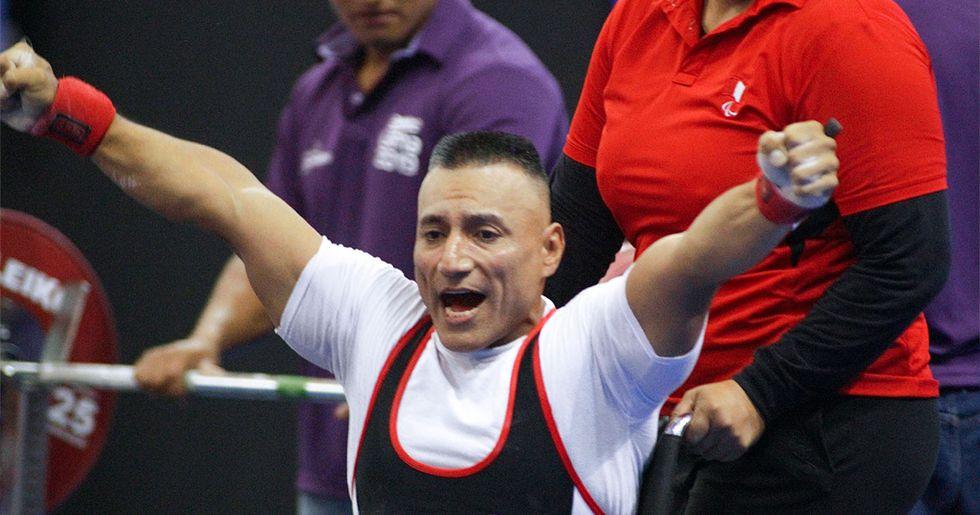 Niel García es la mejor carta peruana en el Para Powerlifting. (Foto: Lima 2019)