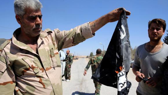 El año de reveses que redujo el dominio del Estado Islámico