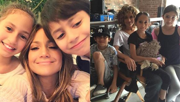 Hija de Jennifer Lopez se refirió a su mellizo en entrevista. (Foto: @jlo)