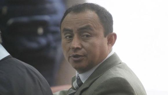 Gregorio Santos tenía S/. 7.000 en su celda en Piedras Gordas