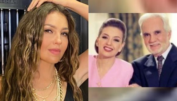 Thalía y su emotivo mensaje de despedida a Ricardo Blume. (Foto: @thalia)