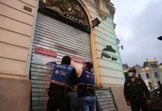Municipalidad de Lima clausura local de Pizza Hut de Plaza San Martín por deficiencias sanitarias