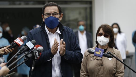 Martín Vizcarra y Pilar Mazzetti ya enviaron sus descargos sobre el caso 'vacunagate' a la subcomisión, así como Elizabeth Astete. (Foto: GEC)