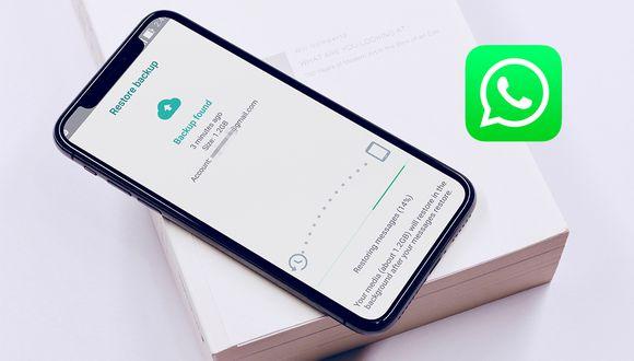 ¿Qué se debe hacer para recuperar todas las conversaciones eliminadas de WhatsApp? (Foto: WhatsApp)