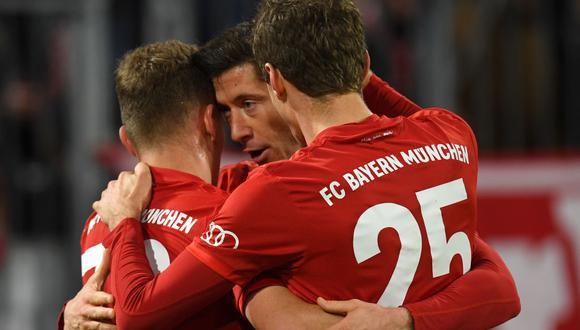 Bayern Múnich chocará con Paderborn por la Bundesliga. Conoce los horarios y canales de todos los partidos de hoy, viernes 21 de febrero. (AFP)