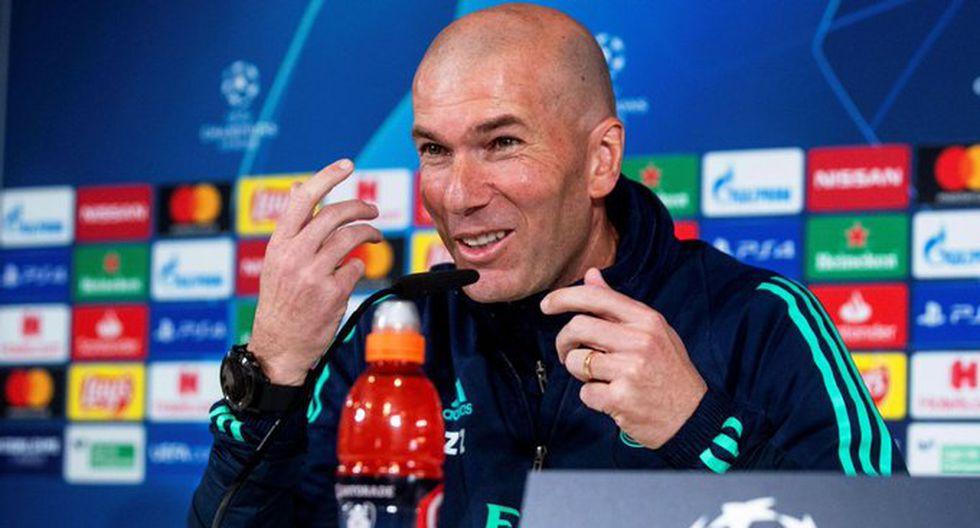 Zidane elogió a Pep Guardiola de cara al partido por Champions League. (Foto: AFP)