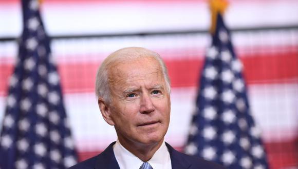 Joe Biden criticó este miércoles la política del presidente estadounidense, Donald Trump, que llevó a la separación de familias inmigrantes y prometió que de ganar las elecciones promoverá una iniciativa para conceder la ciudadanía a 11 millones de indocumentados. (Foto: SAUL LOEB / AFP).