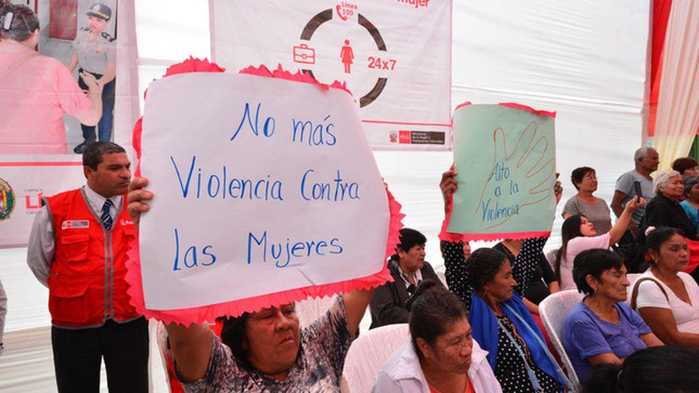 En el 2015 se publicó la  ley Nº 30364, Ley para prevenir, sancionar y erradicar la violencia contra las mujeres y los integrantes del grupo familiar. (Foto: MIMP)