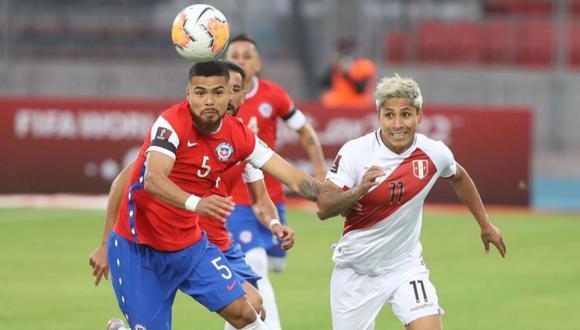 Perú vs. Chile EN VIVO, la Bicolor enfrenta a la Roja en el estadio Nacional de Santiago | Foto: @SeleccionPeru