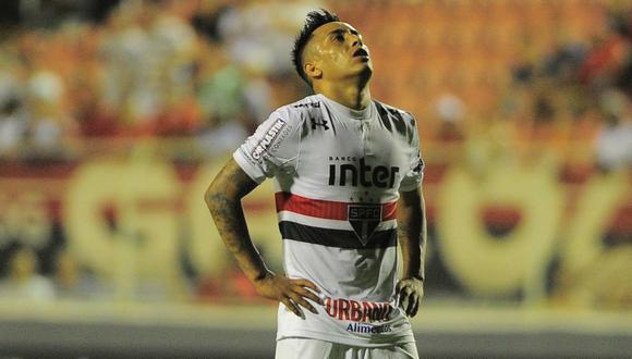 Christian Cueva se responsabilizó por la derrota de Sao Paulo ante Ituano. (Foto: Globoesporte/Marcos Ribolli)