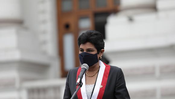 Norma Yarrow indicó que no dudaría en respaldar a Jorge Montoya en esta elección si se presentara con una lista multipartidaria. (Foto: Archivo GEC)