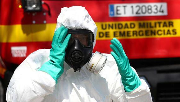 La presidenta de la Comunidad de Madrid, Isabel Díaz Ayuso, solicitó el lunes la ayuda del ejército para luchar contra la propagación del coronavirus. (Reuters).
