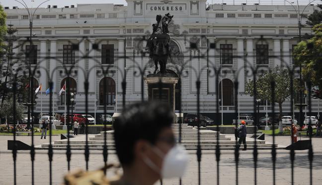El Congreso de la República tendrá diez bancadas, según los resultados proclamados por el JNE (Foto: Anthony Niño de Guzmán/GEC)