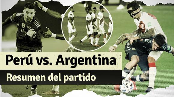 Argentina 1-0 Peru: summary of the Qatar 2022 qualifying match
