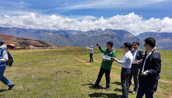 Desde noviembre, el consorcio surcoreano que brinda asistencia técnica para las obras visita la zona (Foto: MTC)