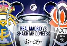Real Madrid - Shakhtar en directo | Sigue el partido de Champions