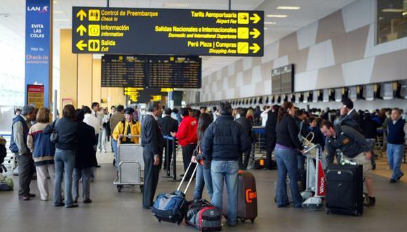 Imagen referencial del aeropuerto Jorge Chávez. (Foto: Andina)
