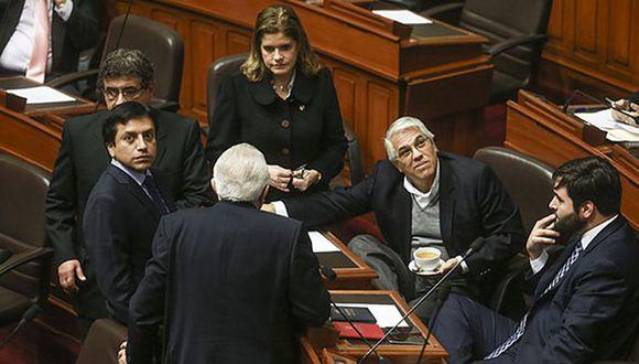 Juan Sheput, vocero alterno de Peruanos por el Kambio, anunció que su bancada aprobó la creación de un reglamento disciplinario interno. (Foto: Lino Chipana/ Archivo El Comercio)