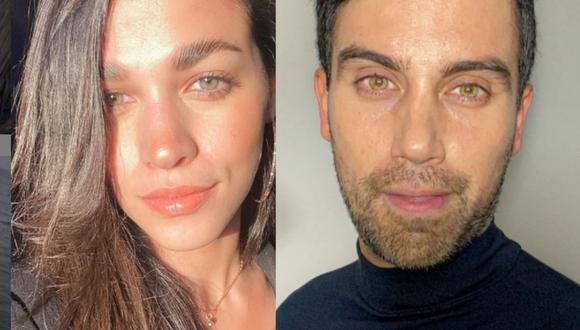 """Los actores se enamoraron en el set de grabación de """"De vuelta al barrio"""" (Foto: Sirena Ortiz / Nicholas Wenzel / Instagram)"""